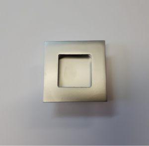 Ручка квадратная Серебро матовое Абакан