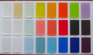 Акриловое стекло матовое для радиусных шкафов-купе и радиусных межкомнатных перегородок Абакан