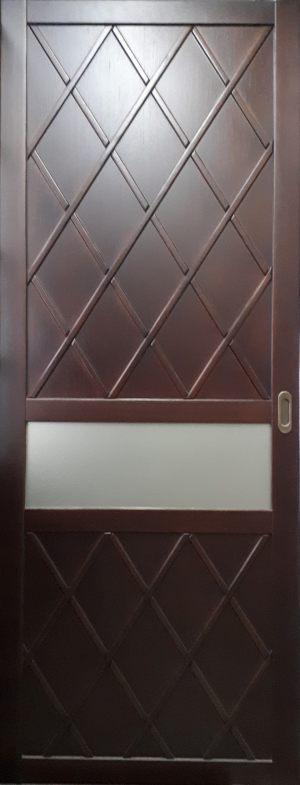 Вставка в дверь с фигурной филенкой Абакан