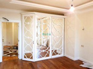 Двери с фигурной филенкой, эмаль Абакан