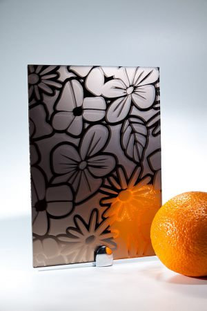"Зеркало ""Цветы"" бронза Абакан"