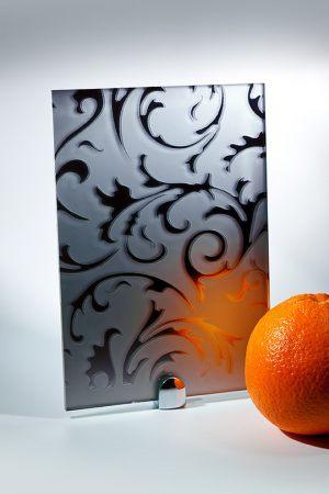 """Зеркало """"Барокко"""" матовое графит Абакан"""