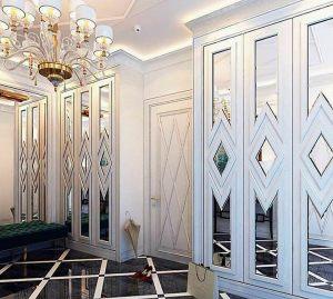 Двери с делителем наклейкой Абакан
