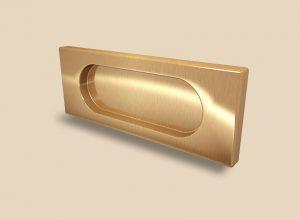 Ручка Золото глянец прямоугольная Италия Абакан