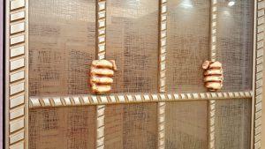 Алюминиевый профиль для шкафа купе эмаль с декоративной накладкой Абакан