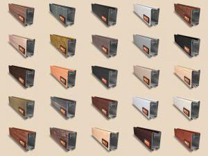 """Алюминиевый ламинированный профиль """"HOLZ"""" для шкафов купе и межкомнатных перегородок Более 100 цветов Абакан"""