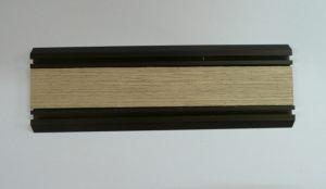 Направляющая нижняя для шкафа-купе вкладка шпон Абакан