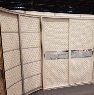Вставки в двери с 3D эко кожей Абакан