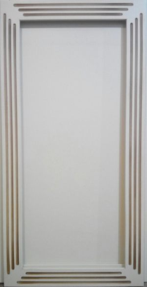 Рамочный фасад с фрезеровкой 2 категории сложности Абакан